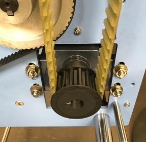 engrenage plastique impression 3D sur arbre moteur